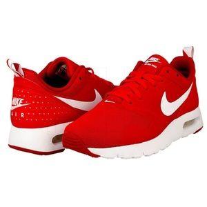 Nike Air Max Tavas kids red trainers sneakers